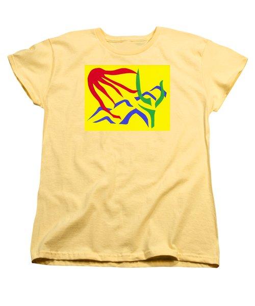Desert Sun Women's T-Shirt (Standard Cut) by Delin Colon