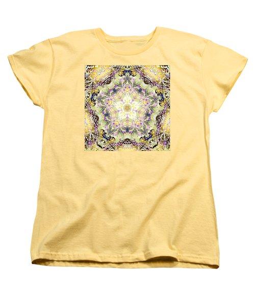 Digmandala Simha Women's T-Shirt (Standard Cut) by Derek Gedney