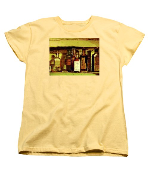 Women's T-Shirt (Standard Cut) featuring the photograph Doctor - Syrup Of Ipecac by Susan Savad