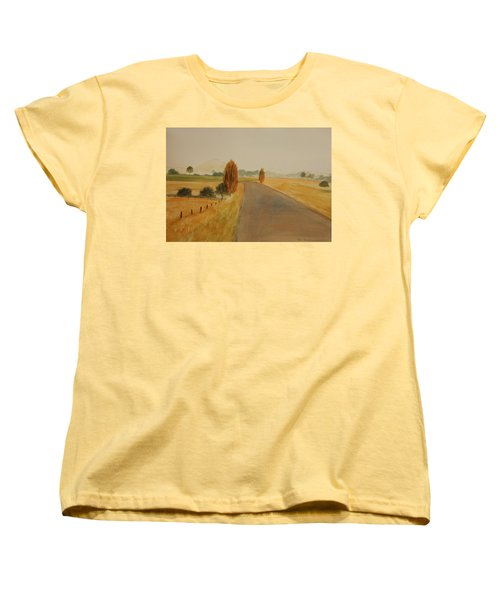 Dungog Area Nsw Australia Women's T-Shirt (Standard Cut) by Tim Mullaney