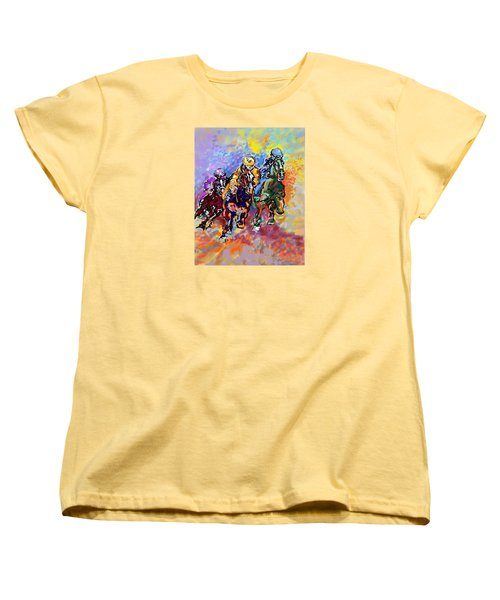 Dynamic Winner Women's T-Shirt (Standard Cut) by Mary Armstrong