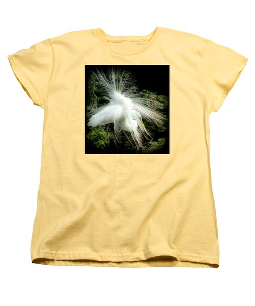 Elegance Of Creation Women's T-Shirt (Standard Cut) by Karen Wiles
