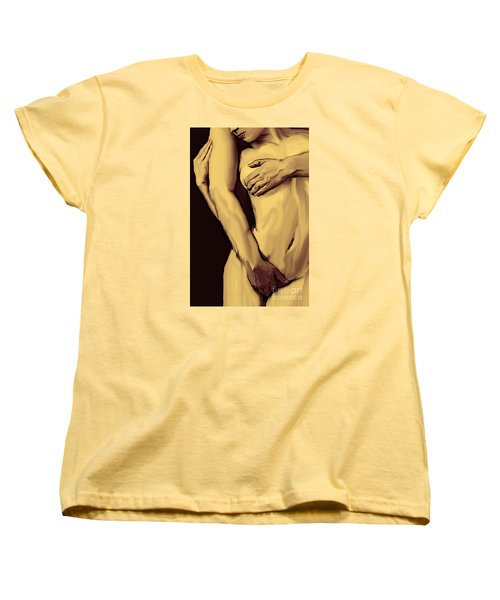 Embrace Women's T-Shirt (Standard Cut) by Tbone Oliver