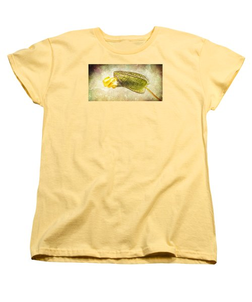 Women's T-Shirt (Standard Cut) featuring the photograph Emerging by Caitlyn  Grasso