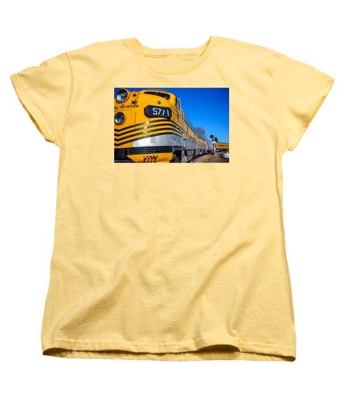 Women's T-Shirt (Standard Cut) featuring the photograph Engine 5771 by Shannon Harrington