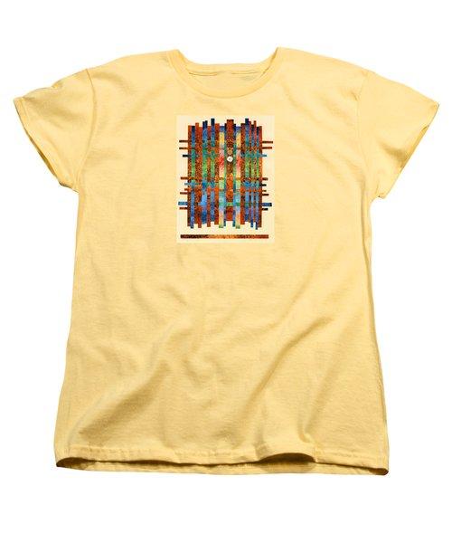 Entering The Temple Women's T-Shirt (Standard Cut) by Lynda Hoffman-Snodgrass