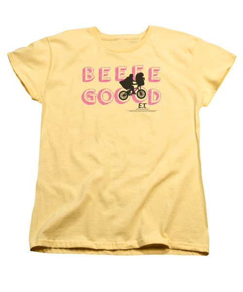Et - Goood Women's T-Shirt (Standard Cut) by Brand A