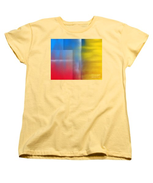 Women's T-Shirt (Standard Cut) featuring the painting Every Breath You Take by Roz Abellera Art