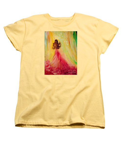 Expecting Women's T-Shirt (Standard Cut) by Teresa Wegrzyn