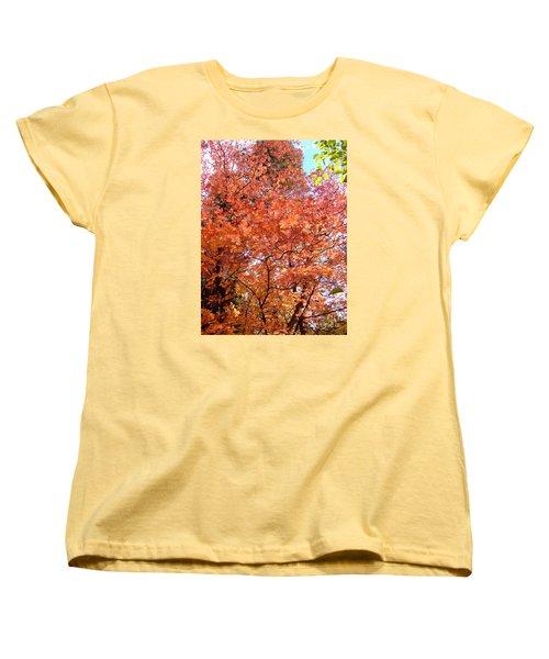 Fall Colors 6357 Women's T-Shirt (Standard Cut) by En-Chuen Soo