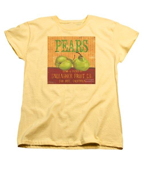 Farm Fresh Fruit 1 Women's T-Shirt (Standard Cut) by Debbie DeWitt