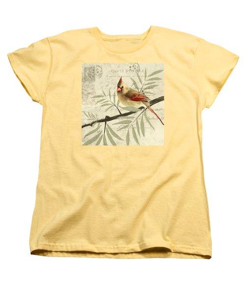 Female Symphony Women's T-Shirt (Standard Cut) by Lourry Legarde