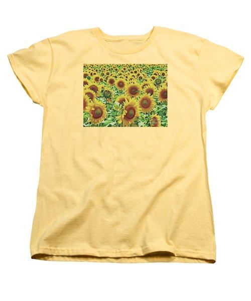 Field Of Dreams Women's T-Shirt (Standard Cut) by Robert ONeil