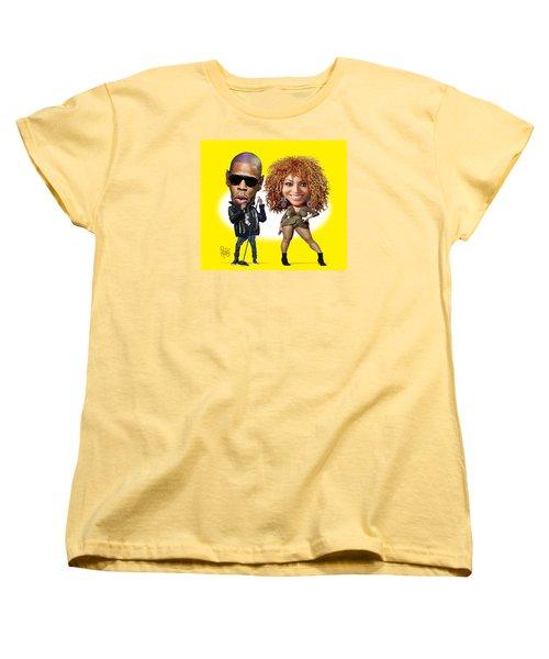 First Couple Women's T-Shirt (Standard Cut) by Scott Ross