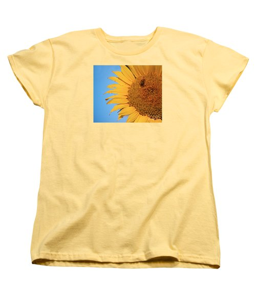 Women's T-Shirt (Standard Cut) featuring the photograph Flawed Beauty by Rima Biswas