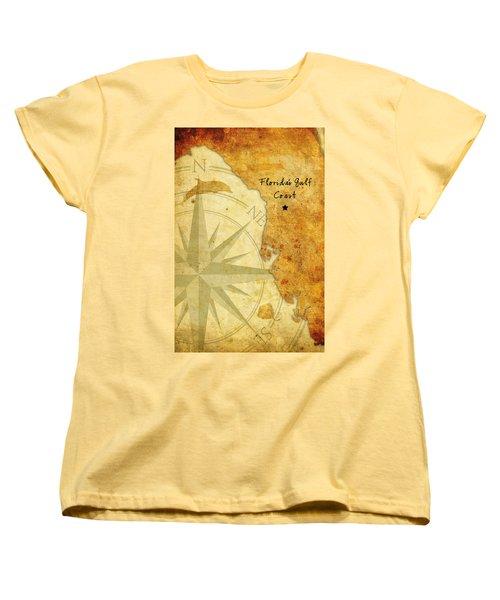 Florida's Gulf Coast Women's T-Shirt (Standard Cut) by Beverly Stapleton