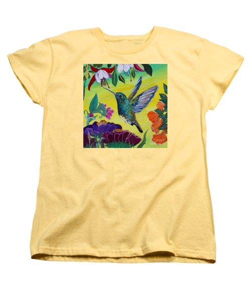 Follow Me Women's T-Shirt (Standard Cut) by Robin Maria Pedrero