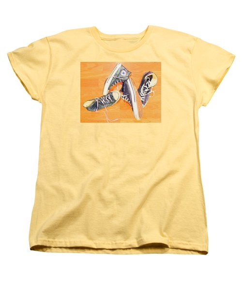 Women's T-Shirt (Standard Cut) featuring the photograph Following In The Footsteps by Greg Simmons