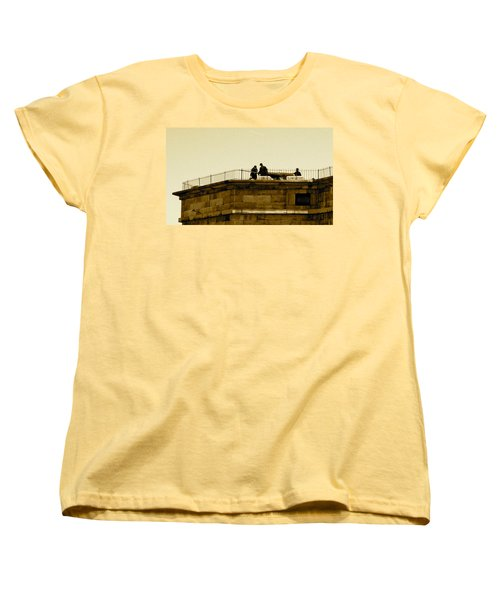 Fort Delaware Cleaning Crew Women's T-Shirt (Standard Cut) by Amazing Photographs AKA Christian Wilson