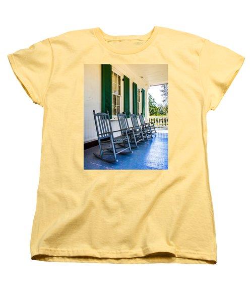 Four Porch Rockers Women's T-Shirt (Standard Cut) by Perry Webster