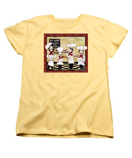 French Chefs-bon Appetit Women's T-Shirt (Standard Cut)