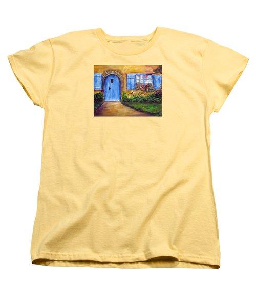 French Cottage Women's T-Shirt (Standard Cut) by Loretta Luglio