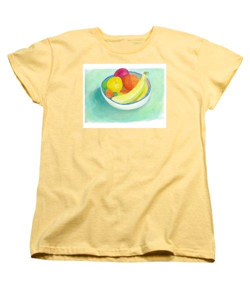 Fruit Bowl Women's T-Shirt (Standard Cut) by C Sitton