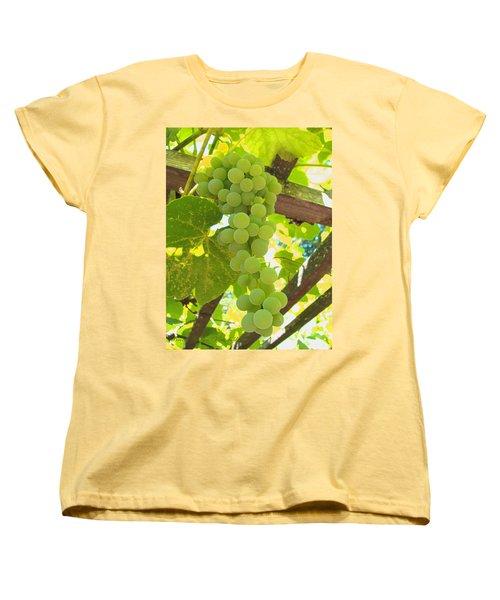 Fruit Of The Vine - Garden Art For The Kitchen Women's T-Shirt (Standard Cut) by Brooks Garten Hauschild