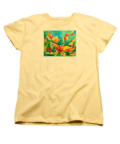 Garden Series No.3 Women's T-Shirt (Standard Cut) by Teresa Wegrzyn