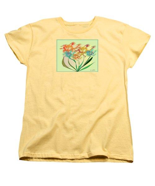 Garden Wonder Women's T-Shirt (Standard Cut) by Iris Gelbart