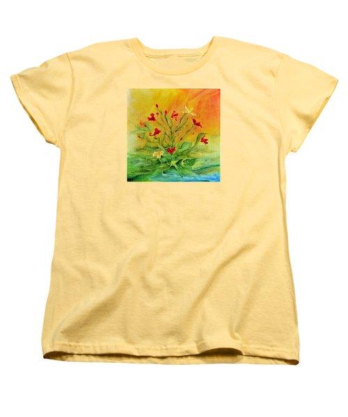 Gentle Women's T-Shirt (Standard Cut) by Teresa Wegrzyn