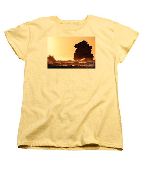 Glorious Afternoon At Morro Bay Women's T-Shirt (Standard Cut) by Terry Garvin