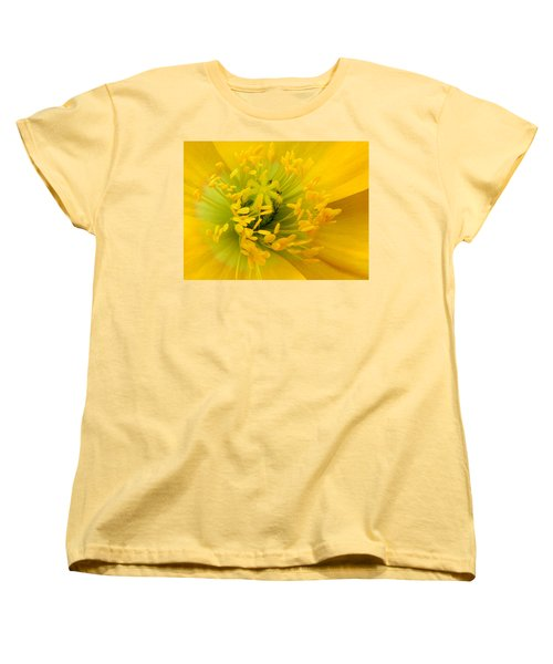 Women's T-Shirt (Standard Cut) featuring the photograph Glory Of Nature by Deb Halloran