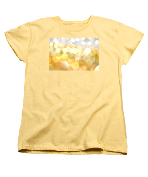 Gold On The Ceiling Women's T-Shirt (Standard Cut) by Dazzle Zazz