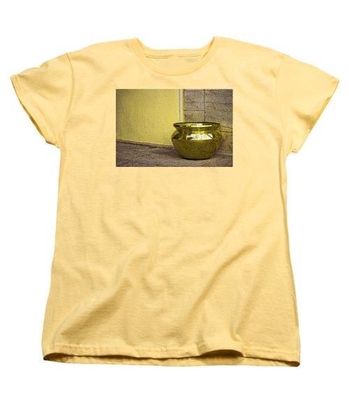 Golden Pot Women's T-Shirt (Standard Cut) by Prakash Ghai