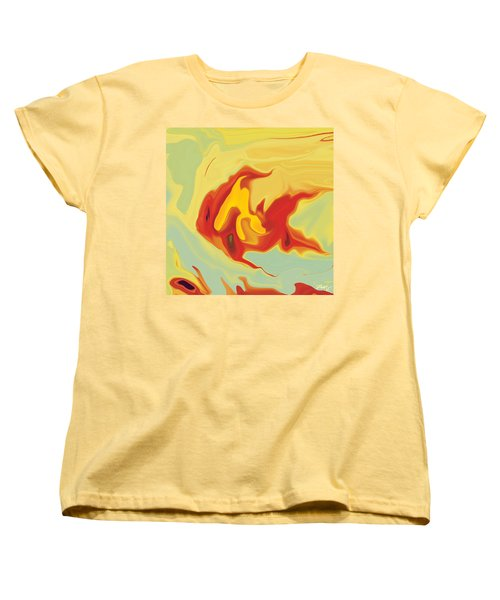 Goldfish 2 Women's T-Shirt (Standard Cut) by Rabi Khan