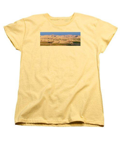 Women's T-Shirt (Standard Cut) featuring the photograph Good Morning Badlands I by Patti Deters