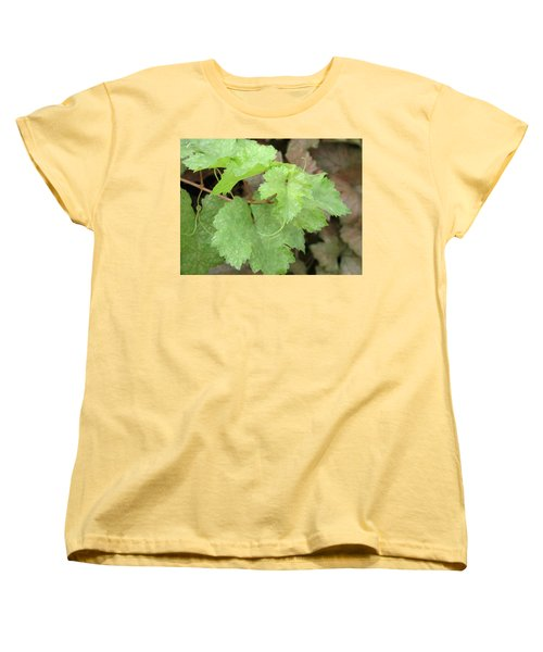 Women's T-Shirt (Standard Cut) featuring the photograph Grapevine by Laurel Powell