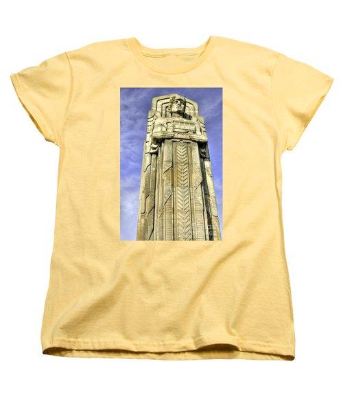 Guardian Of Traffic - 5 Women's T-Shirt (Standard Cut) by David Bearden