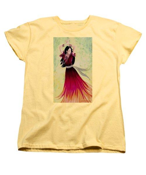 Gypsy Dancer Women's T-Shirt (Standard Cut) by Sophia Schmierer