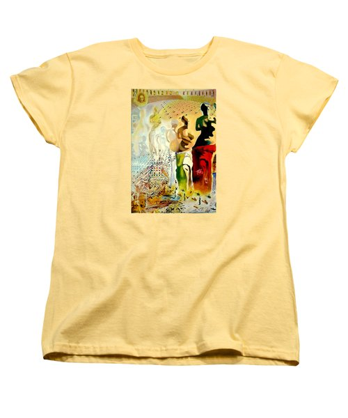 Women's T-Shirt (Standard Cut) featuring the painting Halucinogenic Toreador By Salvador Dali by Henryk Gorecki