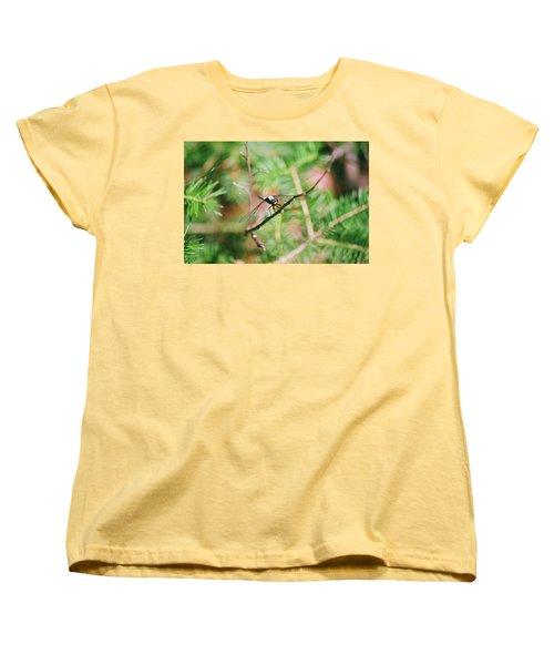 Women's T-Shirt (Standard Cut) featuring the photograph Hangin' Out by David Porteus