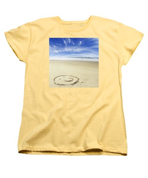 Happiness Women's T-Shirt (Standard Cut) by Les Cunliffe