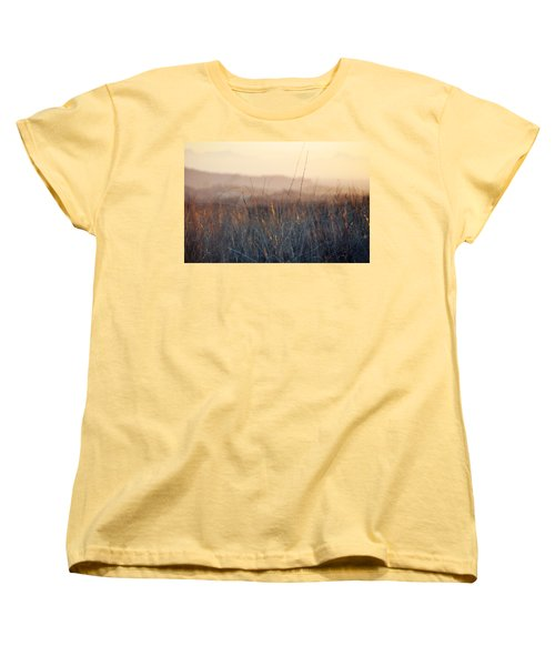 Women's T-Shirt (Standard Cut) featuring the photograph Happy Camp Canyon Magic Hour by Kyle Hanson