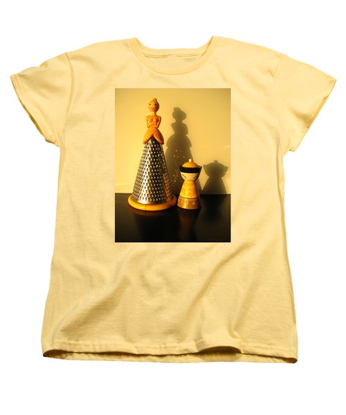 Happy Couple Women's T-Shirt (Standard Cut) by Leena Pekkalainen
