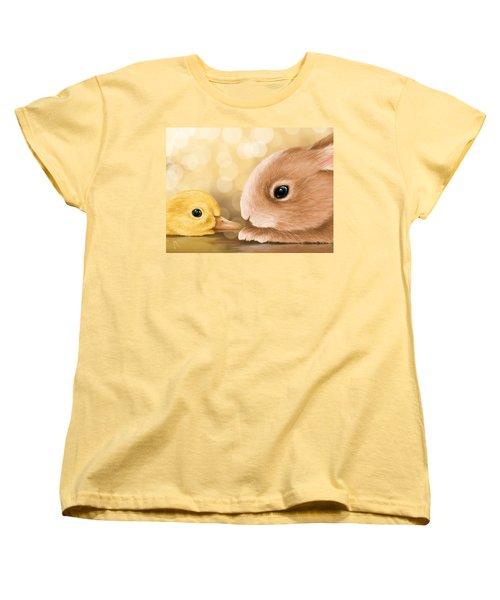Happy Easter 2014 Women's T-Shirt (Standard Cut) by Veronica Minozzi