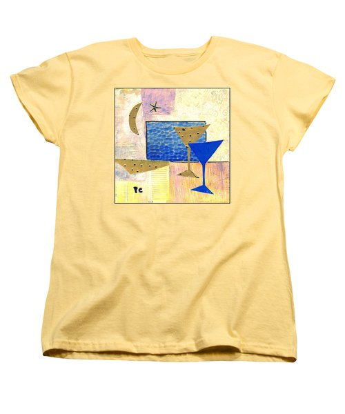 Happy Hour Women's T-Shirt (Standard Cut) by Patricia Cleasby