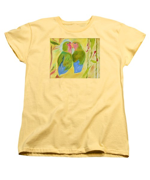 Women's T-Shirt (Standard Cut) featuring the painting Harmony by Meryl Goudey