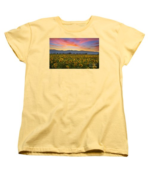 Women's T-Shirt (Standard Cut) featuring the photograph Heaven by Rima Biswas