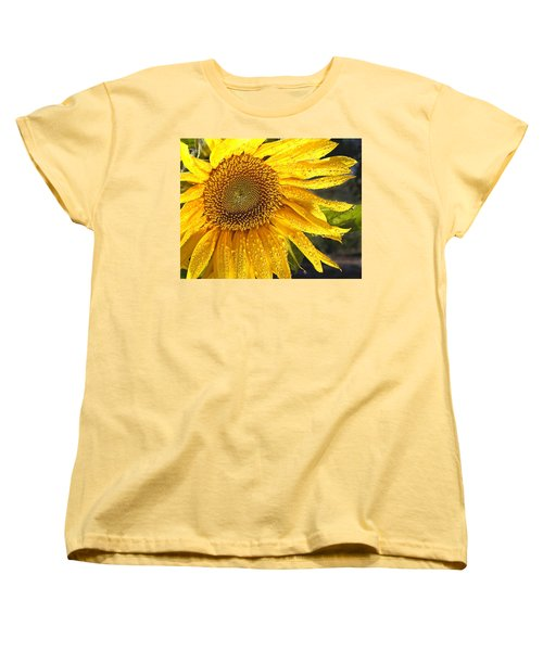 Here Comes The Sun Women's T-Shirt (Standard Cut) by Jean Noren